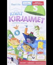 Oppi&ilo Kivat kirjaimet 2 hauskaa peliä 5-8v
