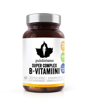 Puhdistamo Super Complex B-vitamiini 60 kaps