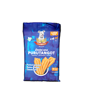 Hau-Hau Champion Dental care -purutangot, koko L 7 kpl, 180g