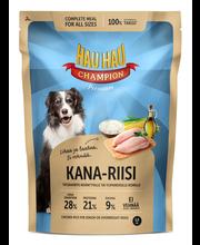 Hau-Hau Champion 1,5kg Kana-riisi täysravinto ikääntyville ja ylipainoisille koirille