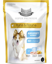 Hau-Hau Champion 1,5kg Kana-peruna täysravinto kaikille koirille