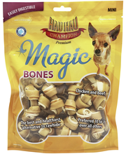 Hau-Hau Champion 357g Magic Bones solmuluu Mini 21kpl