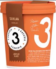 3 Kaverin Suklaajäätelö 500 mll
