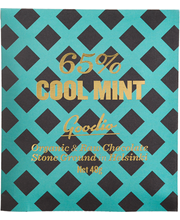 Goodio 48g Cool Mint 65% raakasuklaa luomu