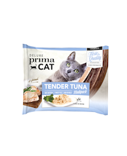 Deluxe PrimaCat 4x50g Tender Tuna multipack, tonnikala vedessä