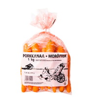 Porkkana Pussi 1 Kg