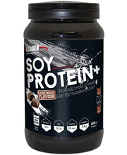 Leader Sports Nutrition Soy Protein Plus 600g kaakaonmakuinen soijaproteiinijauhe