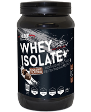 Leader Sports Nutrition Whey Protein Isolate Plus 600g suklaanmakuinen heraproteiinisolaattiijauhe