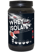 Leader Sports Nutrition Whey Protein Isolate Plus 600g mansikanmakuinen heraproteiinisolaattiijauhe