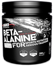 Leader Sports Nutrition 200g Beta-alaniinijauhe-B2-vitamiinijuomajauhe ravintolisä