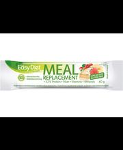 Leader ACKD Easy Diet 60g Gluteeniton ja vähälaktoosinen mansikka-valkosuklaa ateriankorvikepatukka