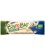 Leader Barebar 40g Mustikka-banaani luomupatukka