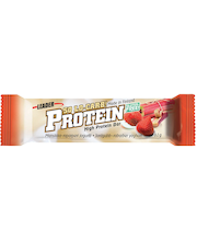 Leader So Lo-Carb Protein 61g Mansikka-raparperi jogurtti proteiinipatukka gluteeniton
