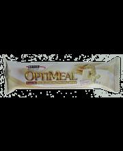 Leader Optimeal 100g Valkosuklaan- ja keksinmakuinen proteiinipatukka