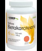 Leader Terveystuotteet 150 tabl/48 g Vahva Betakaroteeni 6 mg ravintolisä