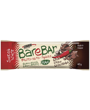 Leader Barebar 40g Chili & Raakasuklaa Energia-välipalapatukka