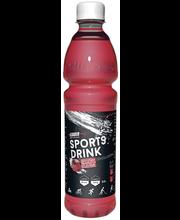 Leader Sports Drink 500ml Vadelma-Punajuuri hiilihydraatti-elektrolyyttijuoma