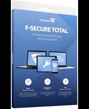 F-Secure TOTAL 1 vuosi...