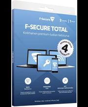 F-secure total 1v 3l  4kk