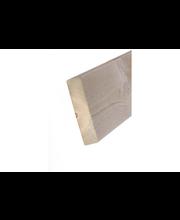 Aure terassi - kestopuu 28X120X2350 harjattu jäkälä päätypontattu ab