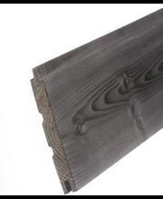Aure sauna - paneeli ku sts/v pn 14x120x2670 pp harjattu savusauna