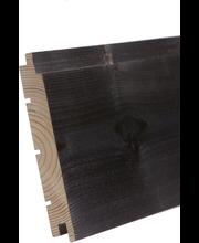 Aure sauna - paneeli ku sts/v pn 18x145x2370 pp harjattu savusauna