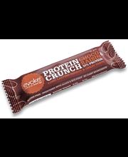 evoke protein crunch suklaa-rusina
