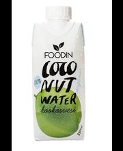 Foodin Kookosvesi, luomu 330ml