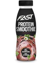 Naturally High Protein Smoothie 330ml Mansikka