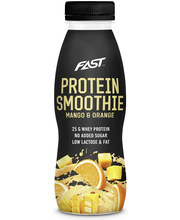 Naturally High Protein Smoothie 330ml Appelsiini-Mango