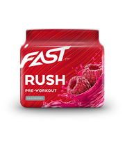 FAST Pre-Workout Rush 110g Vadelma