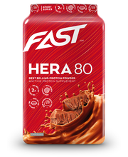 FAST Hera80 600 g suklaanmakuinen heraproteiinijauhe