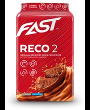 FAST Reco2 900 g suklaanmakuinen palautumisjuomajauhe