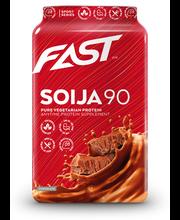 FAST Soija90 600 g suklaanmakuinen soijaproteiinijauhe