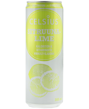 Celsius 355 ml sitruuna-lime