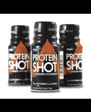 Puls 60ml Mansikka/vadelma 20g proteiini shot urheilujuoma