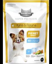 Hau-Hau Champion Super Premium Kana-peruna pienille aik, koirille 800 g