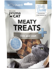 Deluxe PrimaCat Meaty Treats - Skin and coat 30 g