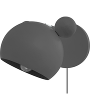 Mouse seinäval harmaa