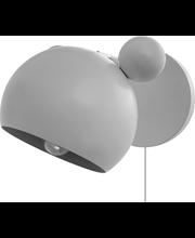 Mouse seinäval valkoinen