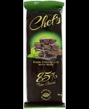 Chef's Dark choco 90g ...