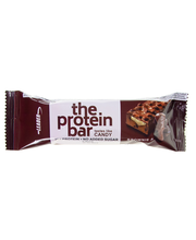 Leader the protein bar...