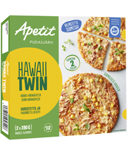 Hawaii twin pizza 2x280g