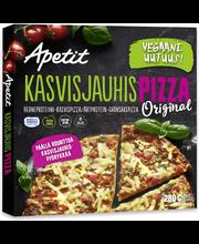 Apetit Kasvisjauhispizza Original herneproteiini-kasvispizza pakaste 280g