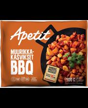 Apetit 500g Muurikka-kasvikset BBQ maustettu kasvissekoitus pakaste