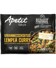 Apetit Parhaat 400g Vihannessekoitus lempeä curry pakaste