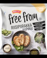 Moilas Free From 6/402g riisipiirakka kypsäpakaste