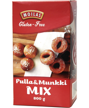 Moilas Gluten-Free Pulla&Munkki Mix 800g gluteeniton jauhoseos