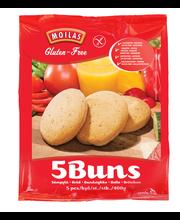 Moilas 5kpl/400g Gluteeniton Sämpylä pakaste