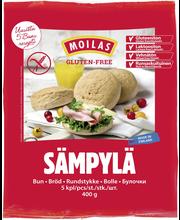 Moilas Gluteeniton Sämpylä 5kpl/400g, pakaste
